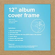 "GB eye FMALA1OK Oak 12"" Record Sleeve Album Frame"