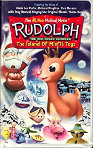 Rudolph The Red-nosed Reindeer The Island Of Misfit Toys Animated 2001 Vhs Video Clamshell Case from Goodtimes Entertainment
