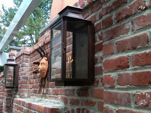 Aspen Medium Copper Wall Mount Lantern