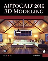 AutoCAD 2019 3D Modeling Front Cover