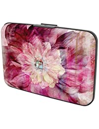 Gift Trenz Security Wallet - Pink Flower, Multi, One Size
