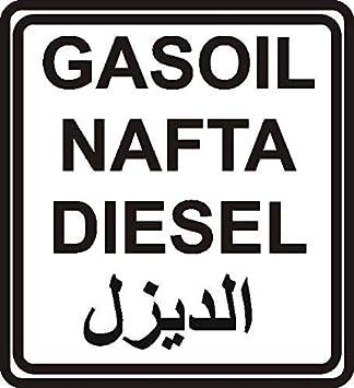 Netspares 119835627 1 X 2 Plott Sticker Diesel Nafta Gas Oil