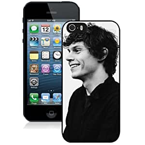 Grace Protective iPhone 5s Case Design with Evan Peters Iphone 5 5s Generation Case in Black by icecream design