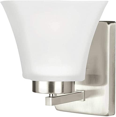 Seagull 4111601-962 One Light Bath Fixture