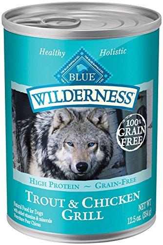 Blue Buffalo Wilderness Grain-Free Trout & Chicken Recipe - 12x12.5 oz