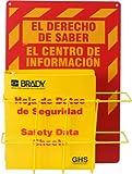 Brady 121371 Globally Harmonized System (GHS) Center - Spanish