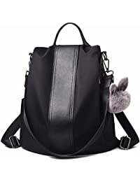 Women Backpack Purse Waterproof Nylon Schoolbags Anti-theft Rucksack Shoulder Bags