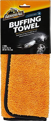 Armor All 17623 1 Pack Microfiber Buffing Towel