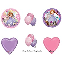 Disney's SOFIA THE FIRST Happy Birthday PARTY Balloons Decorations Supplies by Anagram
