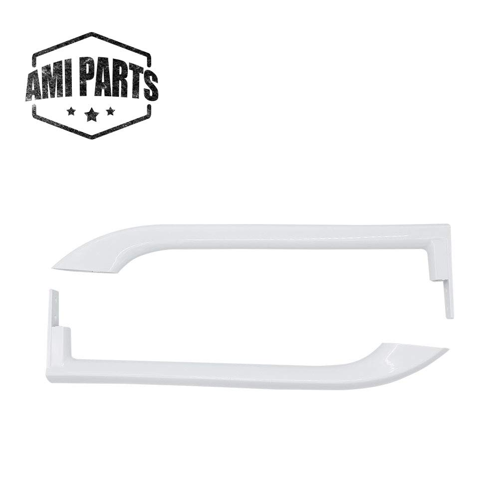 AMI PARTS 5304486359 Frigidaire Door Handle For Refrigerator,Compatible with Frigidaire,To Be Able To Replace 5304497105, 5304506469, AP6036330, 5304504507,242059501, 242059504(Left and right)