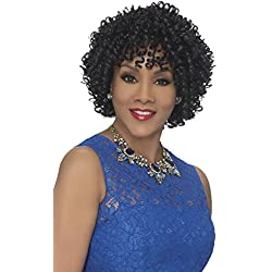 Vivica A Fox Hair Collection Woopi Pure Stretch Cap Wig, CABERNET, 10.5 Ounce
