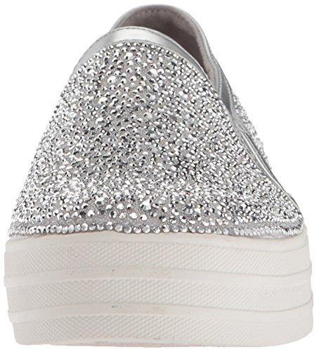 GAL Sil para Plateado Zapatillas Glitzy Double sin Up Skechers Mujer Silver Cordones PwqAtf