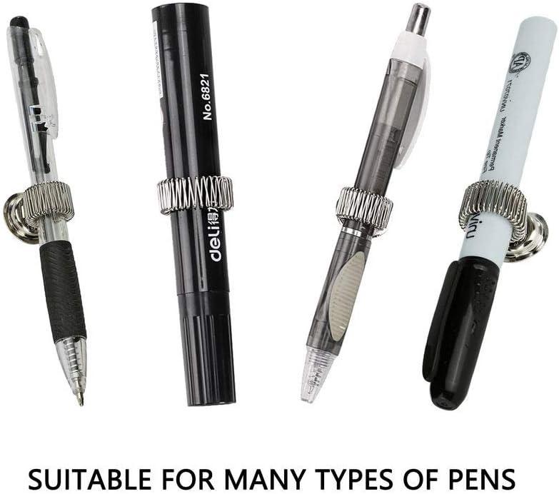for Fridge Whiteboard Keador Magnetic Pen Holder and Bulletion Board Super Strong Magnet Pen holder Fit for Pens of Any Size set of 4