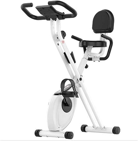QINYUP - Bicicleta de spinning plegable para el hogar, equipo de fitness para interiores, control magnético: Amazon.es: Hogar
