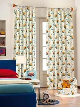 Disney Winnie l\'ourson rideau de chambre coton 140x290 G493: Amazon ...