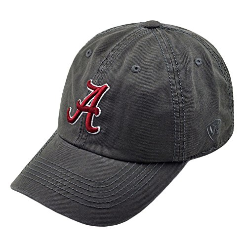 Elite Fan Shop Alabama Crimson Tide Hat Graphite (University Crimson Alabama Tide)