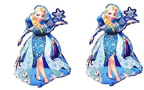 Jolly Jon Frozen Queen Elsa Birthday Balloons – 2 XL 36