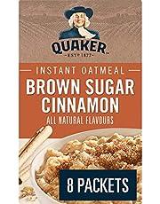 Quaker Instant Oats Brown Sugar Cinnamon