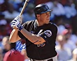 MIKE HESSMAN NEW YORK METS AT BAT SIGNED AUTOGRAPHED 8X10 PHOTO W/COA