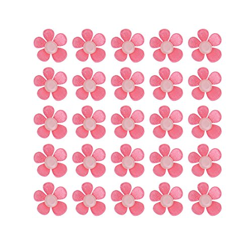 Flower Craft - 50pcs Set Cartoon Rabbit Flower Design Resin Decor Kids Party Back Scrapbooking Birthday Wedding - Waffle Foam Buttons Stickers Cloth Stamps Wire For Kids Ring
