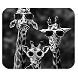 iFUOFF Mouse Pad Personalized Giraffe Customized Rectangle Non Slip Rubber Gaming Mouse Pad