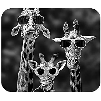 Mouse Pad Personalized Giraffe, Customized Rectangle Non-Slip Rubber, Gaming Mouse Pad, SunshineMP-123