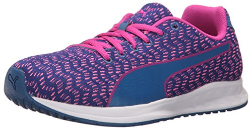 Puma Womens Burst Multi Wns Cross-Trainer Shoe True Blue-ultra Magenta