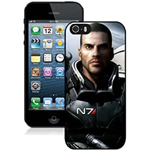 5S case,Mass Effect Shepard Monsters Ammunition Gun Planet Space Stars Faces Characters iPhone 5s cover