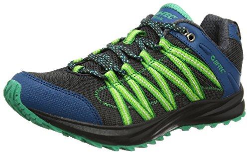 Hi-Tec Men's Sensor Lite Trail Running Shoes Black (Black/Corsair/Blarney 026) wmzaTewf