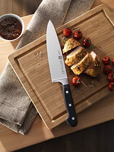 Zwilling 35602-000-0 Professional S Messerset, 3-teilig, Rostfreier Spezialstahl, Sonderschmelze, Friodur eisgehärtet, silber-schwarz 4