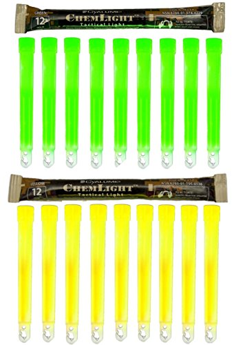 Cyalume ChemLight Military yellow 6 duration product image