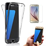 samsung galaxy on5 Galaxy J5 Prime Case, Galaxy On5 2016 Case, Bonice Full Body 360 Degree Front and Back 2pcs Protective Case TPU Gel Transparent Clear Cover for Samsung Galaxy J5 Prime / Galaxy On5 2016 - Black