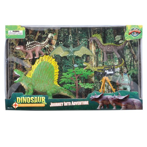 Adventure Planet Series 2 Discovery Expeditions Dinosaur Explorer Set