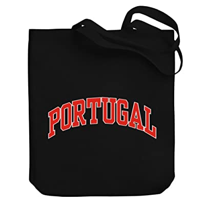 Teeburon Portugal Canvas Tote Bag
