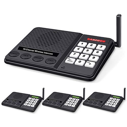 Wireless Intercom System For