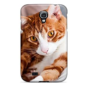 Sanp On Case Cover Protector For Galaxy S4 (beautiful Ginger Cat)