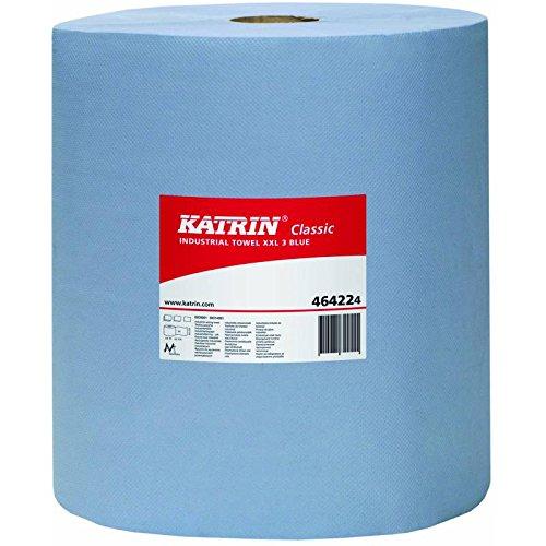 Katrin 464224Classic XXL 3-lagig Industrie Handtuch, blau laminiert (2Stück)