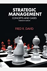 Strategic Management (13th Edition) by Fred R. David (2010-01-26) Hardcover