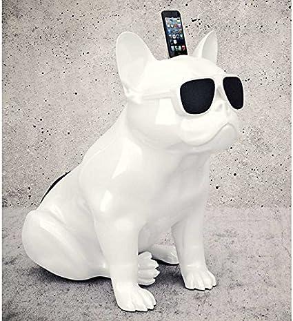 Bulldog Weiße Bluetooth Lautsprecher Elektronik