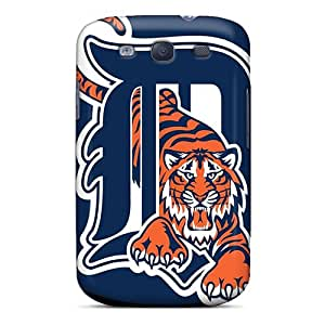 Excellent Hard Phone Cases For Samsung Galaxy S3 (DYt3670fNpA) Custom Colorful Detroit Tigers Pictures