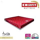 Coirfit Twin 5-inch Single Size Memory Foam Mattress (Red, 72x30x5)