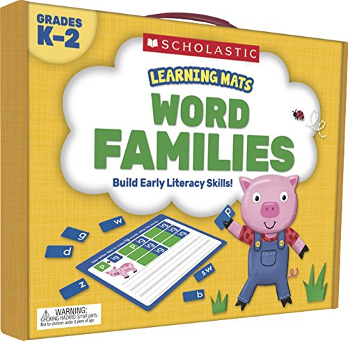 (Learning Mats: Word Families)