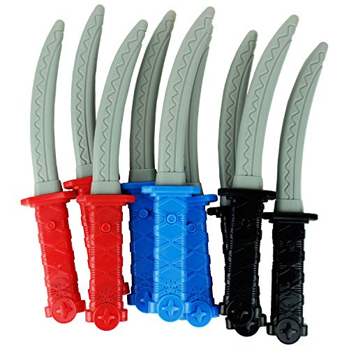 Boley 12 Piece Ninja Sword Party Pack Set