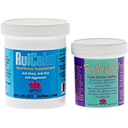 Avitech Avicalm 4oz Plus Featheriffic 3oz - BUNDLE