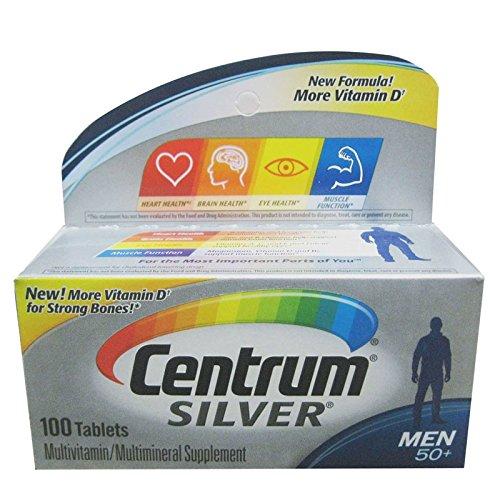 Centrum Silver for Men 50+ Multivitamin/Multiminer…