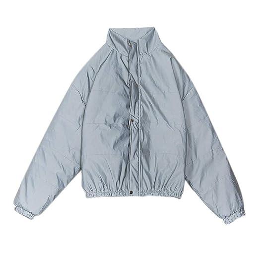 Chándal Reflectante para Mujer Reflexivo algodón de la capa ...