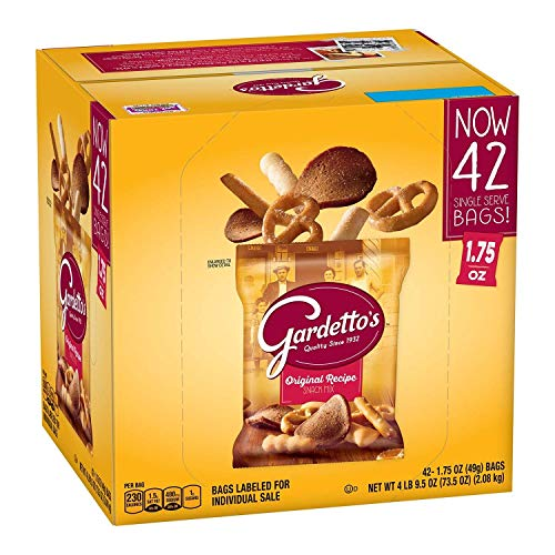 Gardetto's Original Recipe Snack Mix 1.75 oz. (42 ct.) - PACK OF 4
