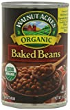 Walnut Acres Organic Baked Beans, 15 Ounce Cans (Pack of 12)