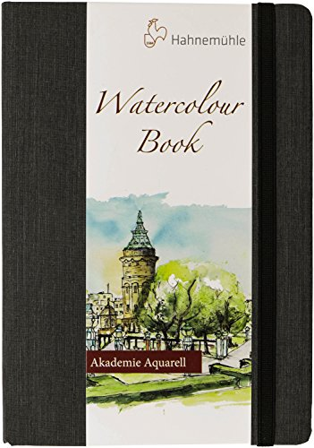 (Hahnemuhle Watercolor Book A5 (8.3x5.8 inches) 200gsm Portrait )