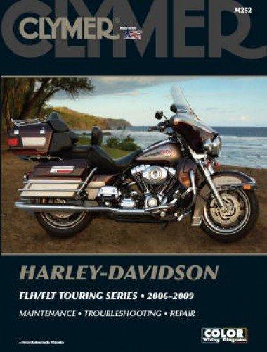- M252 Clymer Harley-Davidson FLH FLT Electra Glide Road King 2006-2009 Motorcycle Repair Manual